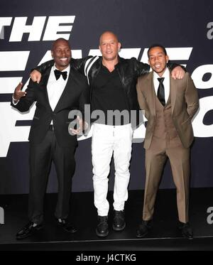 New York premiere of 'Fast and Furious 8: The Fate of the Furious' held at Radio City Music Hall - Arrivals  Featuring: - Stock Photo