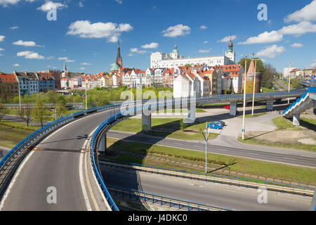 Szczecin  / Panorama of the historical part of the city - Stock Photo