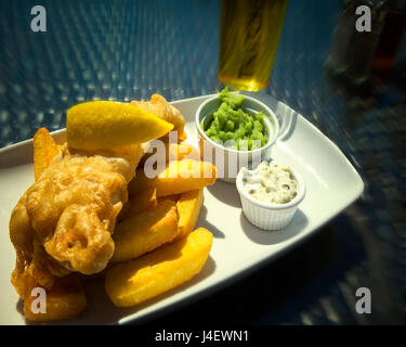 FOOD CONCEPT: Fish & Chips - Stock Photo