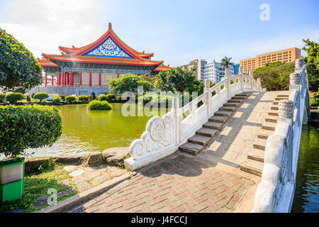 National Concert Hall at Liberty Square in Taiwan - Stock Photo