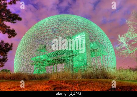 Biosphere by Buckminster Fuller, Montreal, Quebec, Canada - Stock Photo