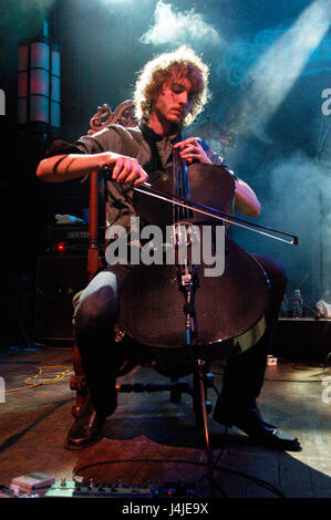 Brent Kutzle of OneRepublic performing at the House of Blues on Sunset in West Hollywood, Ca. - Stock Photo