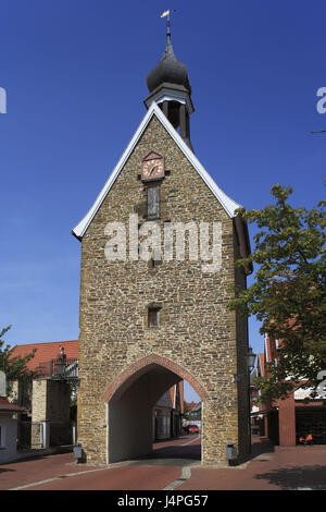 Germany, Quakenbrück, velvet parish kind country, hare's valley, Oldenburg cathedral country, Lower Saxony, Sublime - Stock Photo