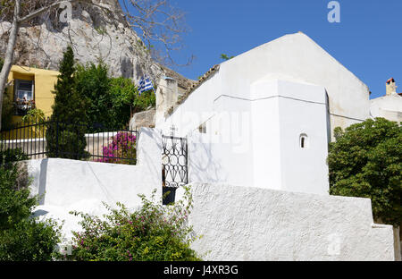 Church of Agios Georgios of the Rock at Anaftioftika - Stock Photo