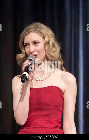 London, UK. 12th May, 2017. Miss London 2017 Finale © Guy Corbishley/Alamy Live News - Stock Photo