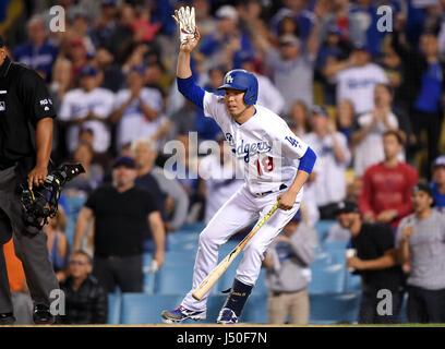 Los Angeles, California, USA. 28th Apr, 2017. Kenta Maeda (Dodgers) MLB : Kenta Maeda of the Los Angeles Dodgers - Stock Photo