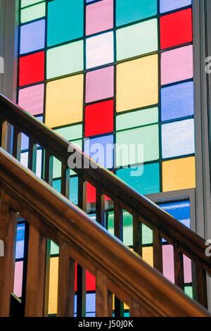 Montgomery Alabama Dexter Avenue King Memorial Baptist Church Martin Luther King Jr. pastor Civil Rights Movement - Stock Photo