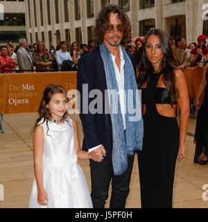 New York, NY, USA. 12th May, 2017. Chris Cornell and Family attend the American Ballet Theatre Opening Night Spring - Stock Photo