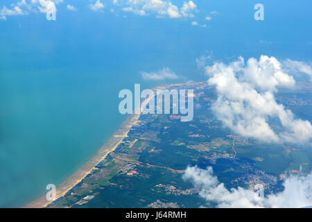 Aerial Guangxi Beihai - Stock Photo