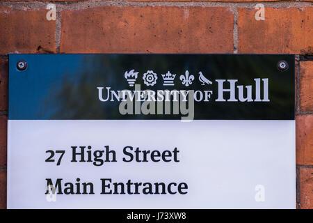 University of Hull Wilberforce Institute, Kingston Upon Hull, Yorkshire, England, U.K. - Stock Photo