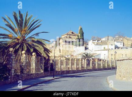 Street. Ubeda, Jaen province, Andalucia, Spain. - Stock Photo