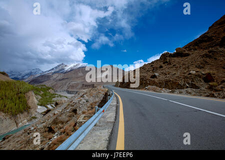 Karakoram Highway - Stock Photo