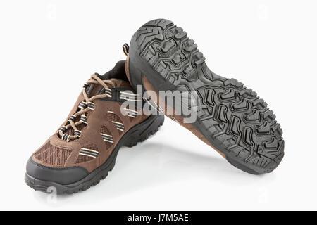 spare time free time leisure leisure time fashion hike go hiking ramble leather - Stock Photo
