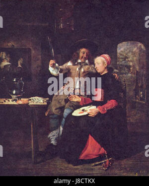 Gabriel Metsu 005 - Stock Photo