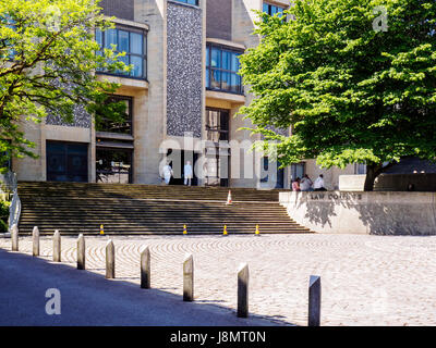 The Law Courts (Winchester Combined Court Centre)  in Winchester, Hampshire, England - Stock Photo