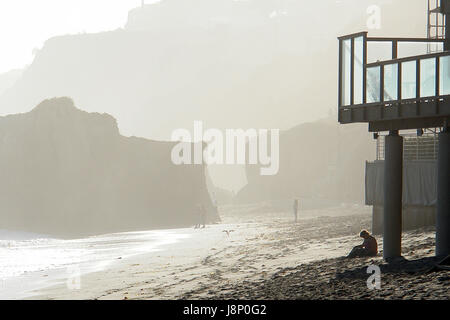 El Matador State Beach, Malibu, Los Angeles County, California movie location - Stock Photo
