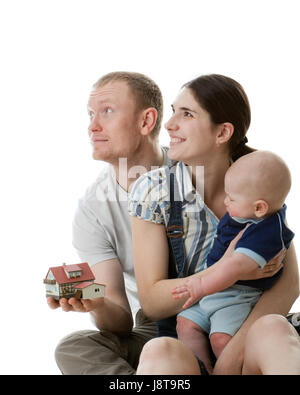woman, humans, human beings, people, folk, persons, human, human being, house, - Stock Photo