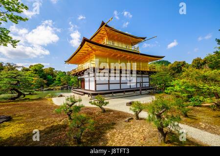 Rokuon-ji Temple Kyoto - Stock Photo