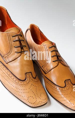 office, fashion, brown, brownish, brunette, leather, convenient, elegant, - Stock Photo