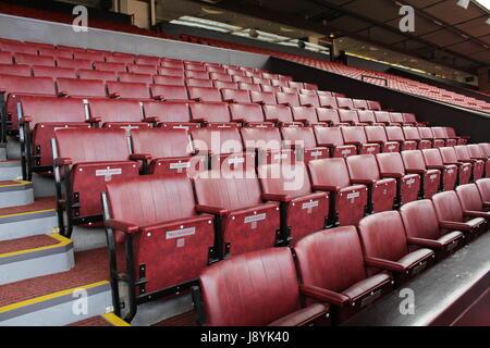 Manchester United stadium - Stock Photo