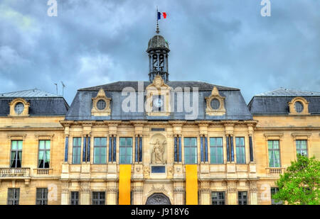 Town Hall of Troyes, the capital of the Aube department in France - Stock Photo