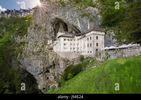 Predjama Castle (Postojna, Slovenia). - Stock Photo