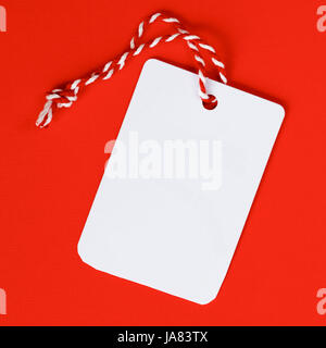 Retail tags for sales in a shop. - Stock Photo