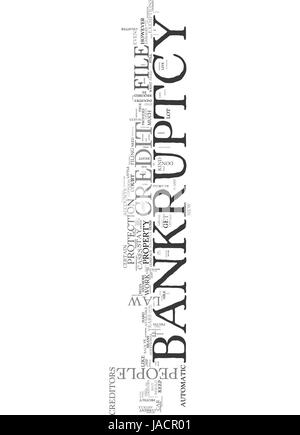 WHAT THE CREDIT INDUSTRY DOESN T WANT YOU TO KNOW ABOUT BANKRUPTCY TEXT WORD CLOUD CONCEPT - Stock Photo
