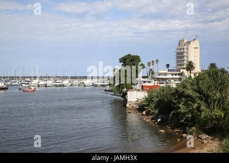Uruguay,Montevideo,harbour, - Stock Photo