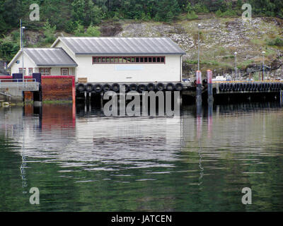 Ferry terminal - Stock Photo