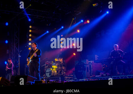 Isle of Wight. 8th Jun, 2017. Starsailor at The Isle of Wight Festival 2017 Credit: James Houlbrook/Alamy Live News - Stock Photo