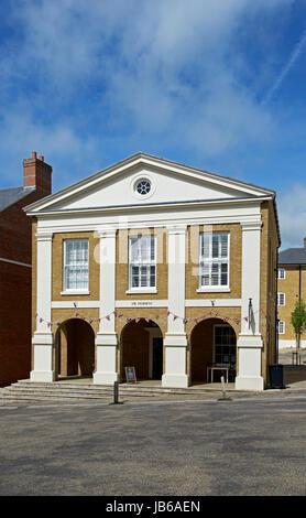 Poundbury, Dorset, England UK - Stock Photo