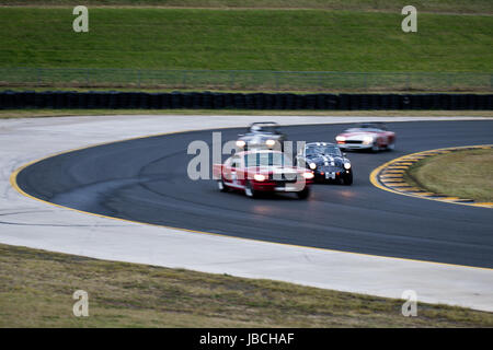 Sydney Motorsport Park, 10th June 2017.  Group S race of Geoff Pike. Anthony Bolack/Alamy Live News - Stock Photo
