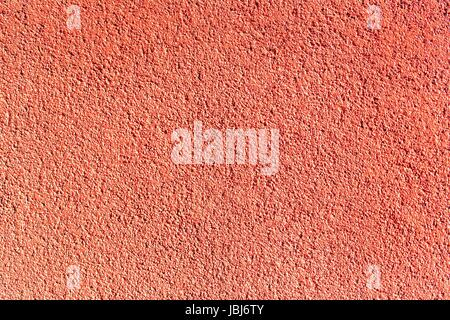 Texture red plastered wall for background. Gray textured painted wall - Stock Photo