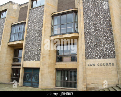 Winchester Law Courts, Hampshire, England, UK - Stock Photo