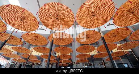 Das  Museum der Kroninsignien des Koenigshaus von Bruneiim Zentrum der Hauptstadt Bandar Seri Begawan im Koenigreich - Stock Photo