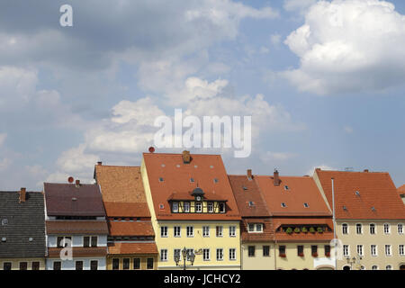 old post office in stolpen - Stock Photo
