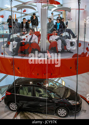 PARIS FRANCE- CITROEN CHAMPS ELYSEES SHOWROOM - PARIS CAR - CITROEN CARS - PARIS DESIGN SPACE © Frédéric BEAUMONT - Stock Photo