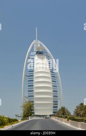 Burj Al Arab, Dubai, United Arab Emirates - Stock Photo