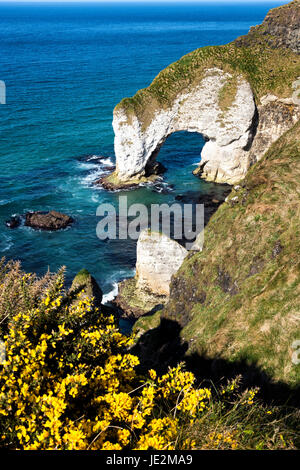White Rocks, Portrush, Co. Antrim - Stock Photo