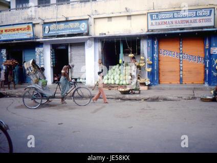 Reportage Bangla Desh 1980. Dhaka - Stock Photo