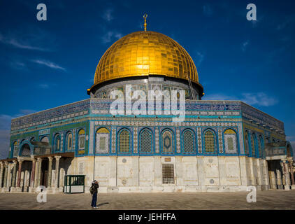 Temple Mount; Jerusalem, Israel - Stock Photo