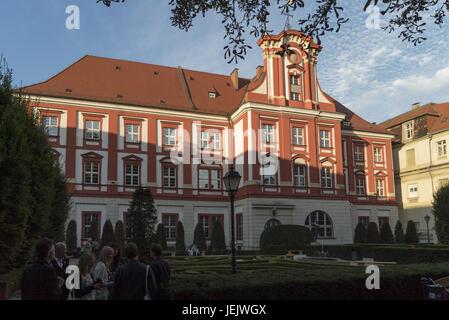 Ossolineum in Breslau / Wroclaw - Stock Photo