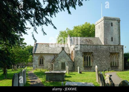 St.Michael's Church, Stinsford, Dorset - 1 - Stock Photo