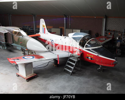 1972 BAC 84 Jet Provost T5A XW425 photo 1 - Stock Photo