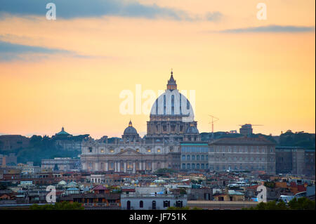 St Peter Cathedral, Vatican, Rome - Stock Photo