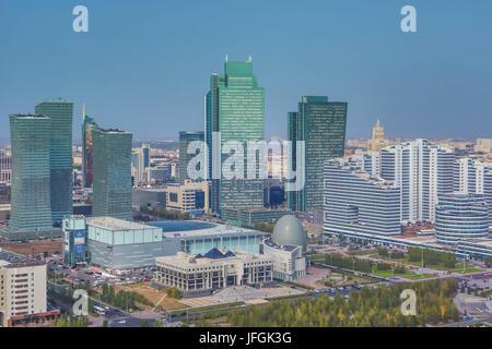 Kazakhstan, Astana City, New Administrative City,National Archive, - Stock Photo