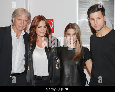 Uli Ferber,Andrea Berg,Vanessa Mai and Andreas Ferber - Stock Photo