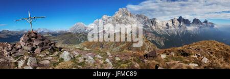 Pale di San Martino, Dolomites, Trentino, Italy, - Stock Photo