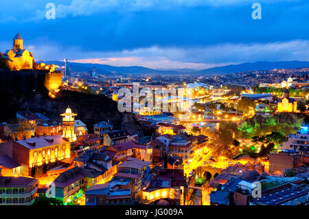 View of Tbilisi, Georgia - Stock Photo